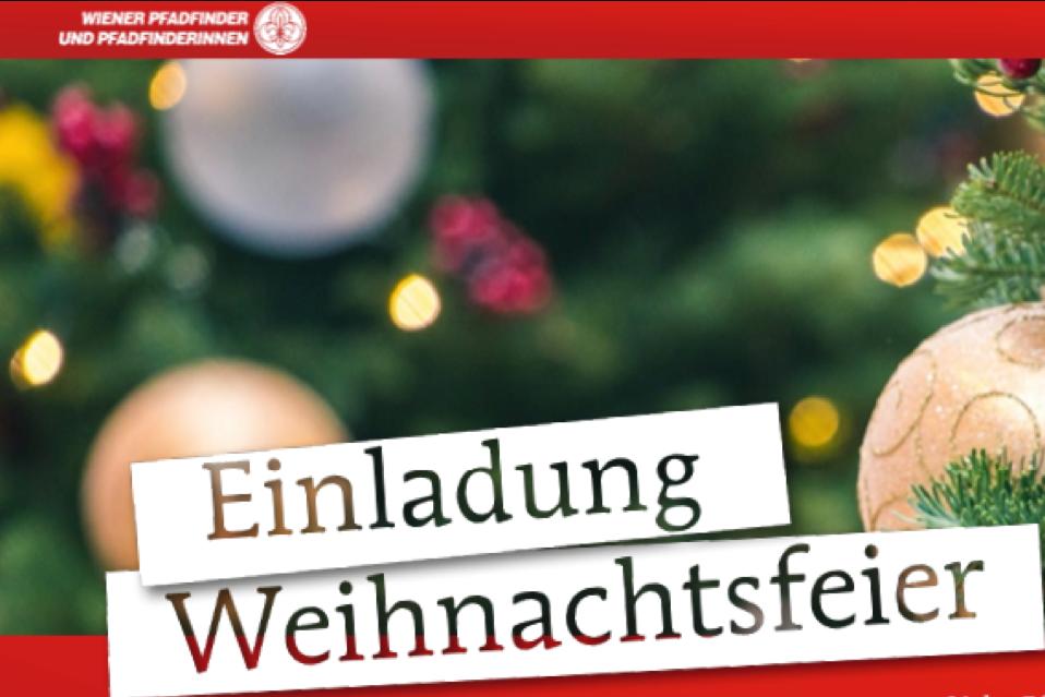 Einladung zur Weihnachtsfeier und Benefizkonzert am 15.12.!